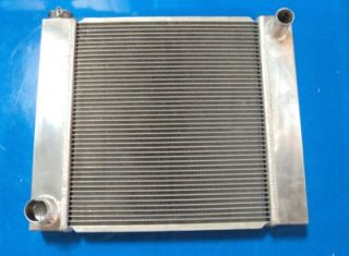 "Street Rod 19"" x 22"" x 2 2"" Aluminum Radiator Ford Outlets New"