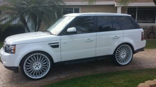 Asanti 24 inch Rims with Tires Range Rover BMW