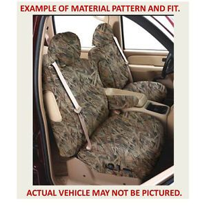 Camo Camouflage Bucket Seat Covers 03 07 Chevy Silverado Truck Covercraft New