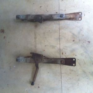 1967 1972 F 100 Bench Seat Tracks Rails Mounting Brackets Ford Truck 68 69 70