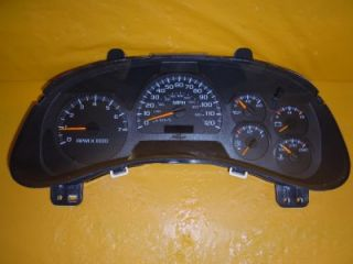 03 04 Trailblazer Speedometer Instrument Cluster Dash Panel 192 737