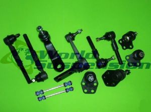 12 Piece Suspension Kit for 2000 2001 Dodge RAM 1500 Pickup 2WD