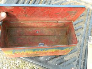 Ford 8N Tool Box Ford Tractor Original