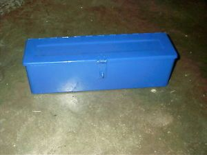 Ford Tractor 2600 3600 4600 5600 Tool Box Blue Metal