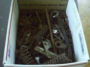 Vintage Harley Knucklehead Flathead Panhead Indian Bolts Nuts Misc Parts Lot