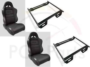 Procar Sportsman Seats 93 02 Chevy Camaro Pair Reclining Seat Adapters Bolt In