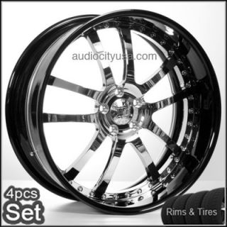 "22"" AC Forged Wheels and Tires Pkg for Land Range Rover Rims 3pc Forged"