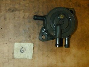Kohler Command Pro 27HP CV740 Twin Cylinder Engine Fuel Pump