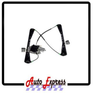 00 02 Lincoln LS Power Window Regulator with Motor Front Right Passenger Side