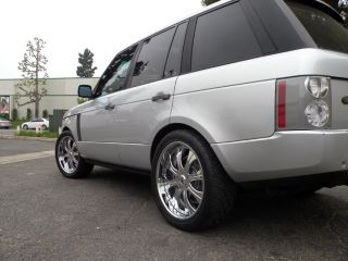 "22"" asanti Chrome Wheels Range Land Rover HSE HST Sport LR3 Tires"
