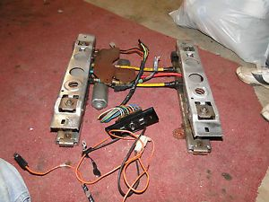 82 92 Camaro Firebird Power Driver Seat Tracks with Switch and Wiring