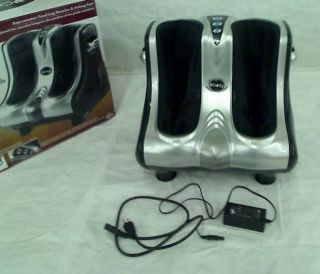 U Comfy Leg Foot Calf and Ankle Massager Squeeze and Vibration
