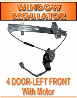 Driver Side Window Regulator
