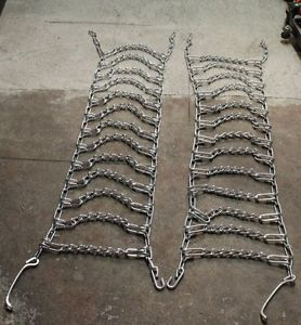 Snowblower Tractor Tire Chains Pair