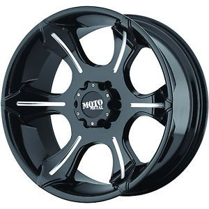20x9 Black Moto Metal MO965 5x5 18 Rims Nitto Terra Grappler 305 55 20 Tires