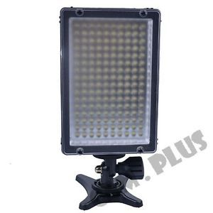 Triopo TTV 160 Digital LED Video Light for Camera Video Camcorder w Tripod Mount