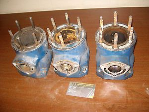 1995 Polaris 95 SL750 SL 750 PWC Complete Engine Motor Cylinder Bank Jug Set 3