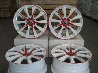 "18"" Wheels 019WPR for Honda Accord Sedan Coupe 2003 2014 5x114 3"