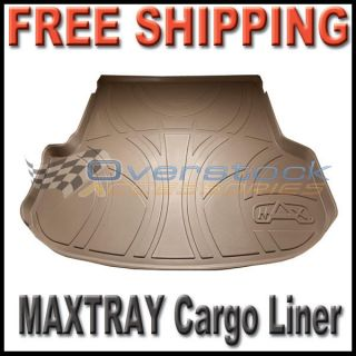 2010 2012 Chevy Equinox GMC Terrain Maxtray Cargo Liner Floor Mat Tan
