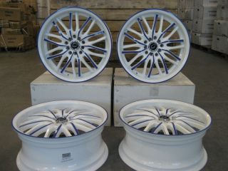 "17"" Wheels 3108WPU for Honda Accord Sedan Coupe 2003 2014 5x114 3"