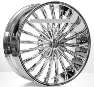 "22"" VC11 Wheels and Tires Rims for Chevy Tahoe Escalade Yukon RAM Ford"
