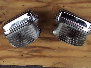 Harley Cylinder Heads Rocker Arms Covers D Rings for Panhead Motors Engines