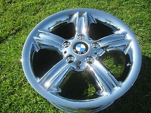 "16"" Brand New BMW Z3 Chrome Wheels Rims Exchange"