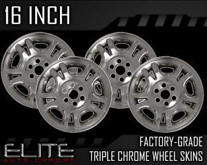 "01 03 Dodge Durango 16"" Chrome Wheel Skin Covers"