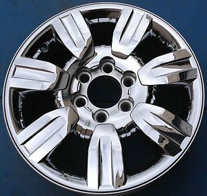 "One 2009 2012 Ford F150 Pickup 18"" Factory Chrome Clad Wheel Rim Nice 3785"