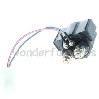 New ATV Starter Relay Solenoid Fits Yamaha Warrior 350 YFM350 1987 2004