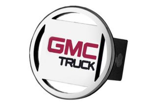 GMC Trailer Hitch Chrome Hitch Cover Plug Insert with GMC Truck Logo by AG