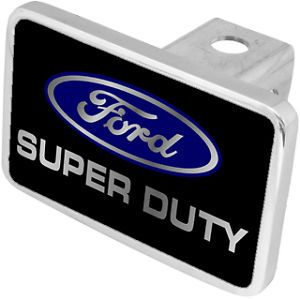 New Ford Super Duty Blue Logo Tow Hitch Cover Plug