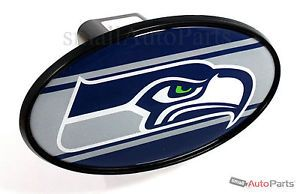 "Seattle Seahawks NFL Tow Hitch Cover Car Truck SUV Trailer 2"" Receiver Plug Cap"