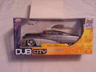 Jada Dub City 51 Mercury Merc Passion 1 24 Scale 2 Tone Silver