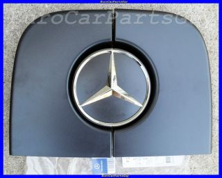 2007 12 Genuine Mercedes Benz Sprinter Rear Door Star Badge Emblem Black Trim