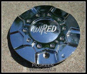 Wired Chrome Center Cap C 230 1 Wheels Rims Caps Custom Aftermarket 6 7 8""