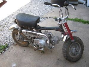 1960s 70s Honda Z 50 Mini Trail Bike Restore or Parts Minibike Pit Bike