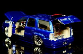 2002 Cadillac Escalade Dub City Diecast 1 24 Scale Candy Purple