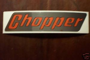 Rupp Chopper Decal Minibike Mini Bike