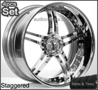 "20"" AC Forged Wheels and Tires Pkg for Mercedes Benz 3pc Forged Rims"