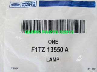 Ford Super Duty Ranger Expedition Bronco Rear License Plate Light Lamp New