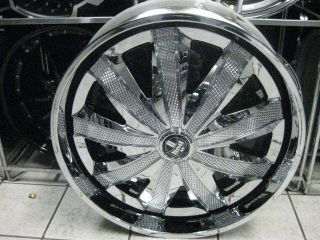 "28"" Dub Kraay Spinner Wheels Tires Floaters asanti 30 Davin 26 Forgiato Lexani"