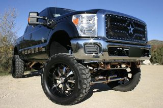 RBP 651564 Ford F 250 Main Billet Grille Black Truck Grill 1 PC RX 2 Series