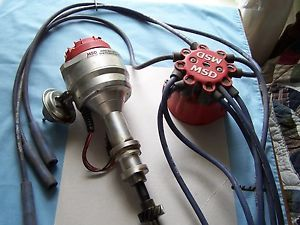 1971 MSD Pro Billet Distributor and Cap Ford Mustang Boss 351 Cleveland Engine