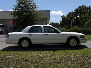Ford Crown Victoria Police Interceptor P71 Florida Reconditioned Cvpi White