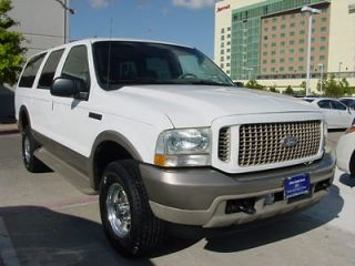 2003 Ford Excursion Eddie Bauer 4WD 7 3L V8 Turbodiesel Powerstroke One Owner