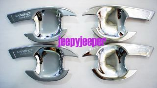 Chrome Door Handle Cover Insert Bowl Trim Toyota Hilux MK7 Series II Vigo Champ