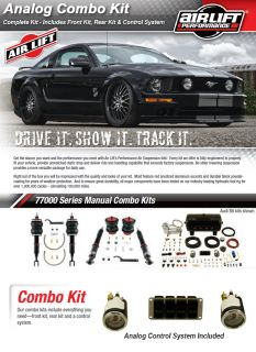 Air Lift Analog Combo Kit 75440 77730 Suspension System 94 01 Acura Integra GS