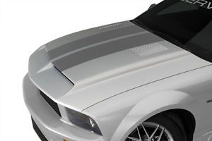05 09 Mustang Type 4 RAM Air Hood w Louvers