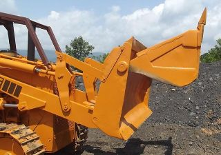 Case Loader 1450 4 in 1 Bucket Dozer 504BDT Turbo Diesel Engine